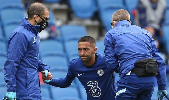 Chelsea fans spot worrying sign from Hakim Ziyech training picture - Bóng Đá