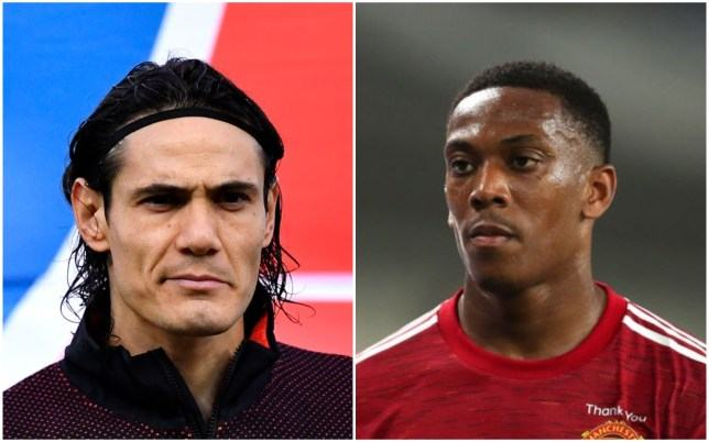 Edinson Cavani gives advice to Anthony Martial and Mason Greenwood after Manchester United move - Bóng Đá