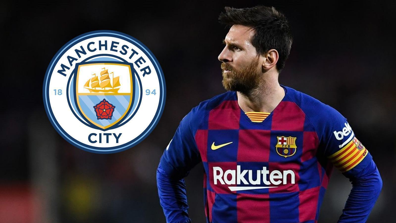 Barcelona 'resigned to losing Lionel Messi to Manchester City next summer for FREE - Bóng Đá