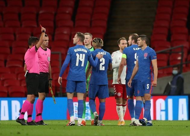 'None of us are saints' - Lampard doesn't fault James for England sending off - Bóng Đá