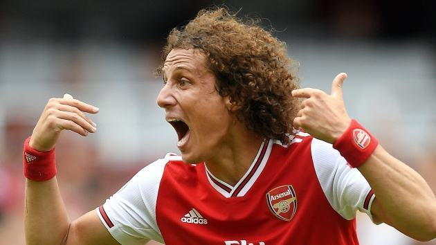 Arsenal receive boost as David Luiz returns to full fitness ahead of the Europa League clash with Molde after recovering from a thigh injury - Bóng Đá