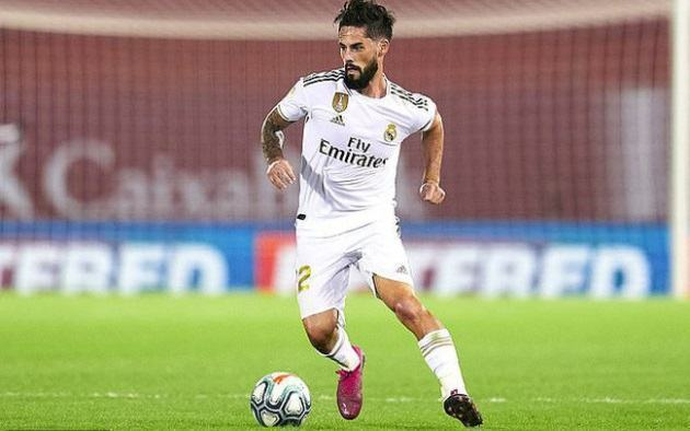 Isco is ready to leave Real Madrid in January - Bóng Đá