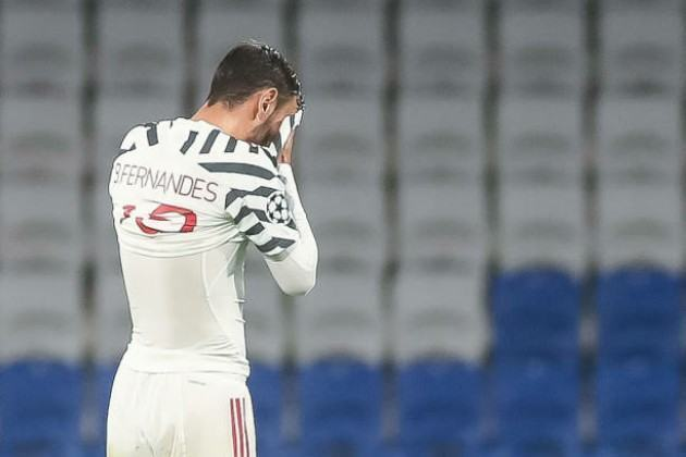 Fernandes admits Man Utd 'did everything wrong' in Champions League defeat that has piled pressure on Solskjaer - Bóng Đá