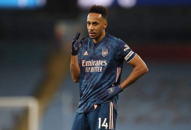 Arteta: It was great for Aubameyang to play on the left - Bóng Đá